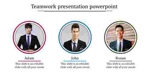 Teamwork presentation powerpoint Design