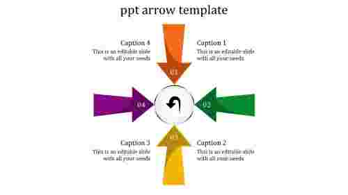 Arrows powerpoint templates Visual