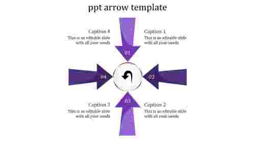 Arrows powerpoint templates circle process