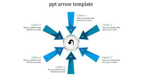 Arrows powerpoint templates circle desing