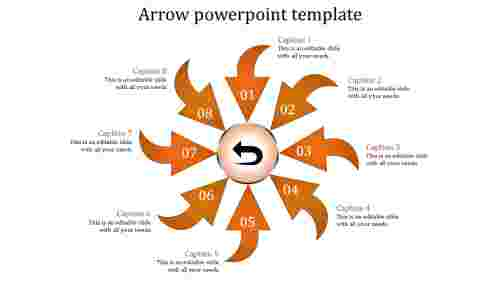 Arrows powerpoint templates Graphic