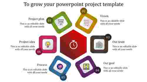 powerpoint project template-To grow your powerpoint project template-6-multicolor