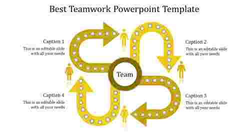 teamwork powerpoint template-Best Teamwork Powerpoint Template-yellow