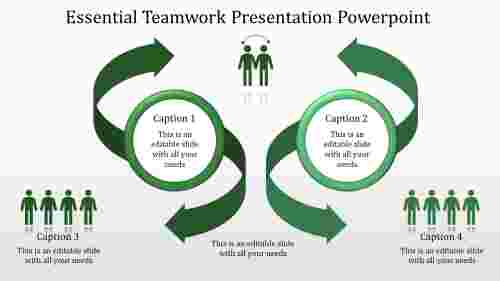 teamwork presentation powerpoint-Essential Teamwork Presentation Powerpoint-green