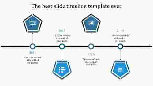 powerpoint with timeline-4-blue-4-3