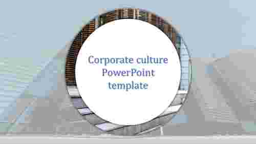 A one noded corporate culture powerpoint template