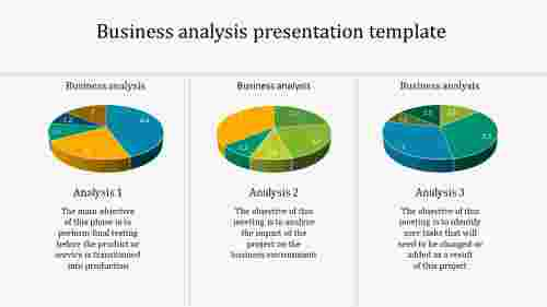 business analysis presentation template
