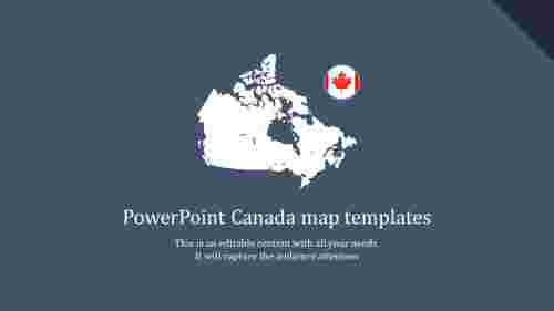 powerpoint canada map templates