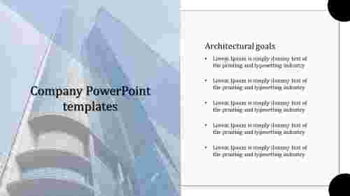 Goals company PowerPoint templates