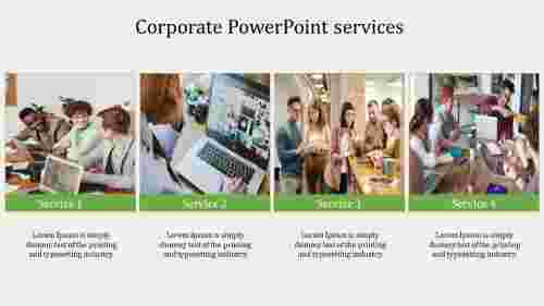 Company corporate PowerPoint services