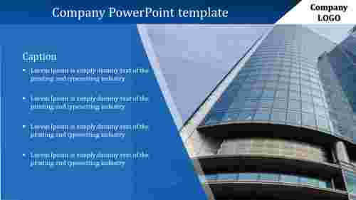 Easy company PowerPoint template