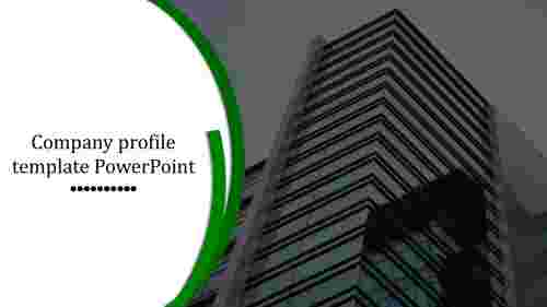 Corporate company profile template PowerPoint
