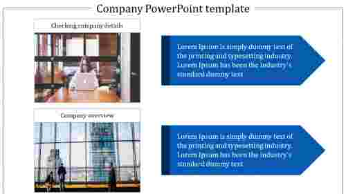 company powerpoint template presentation