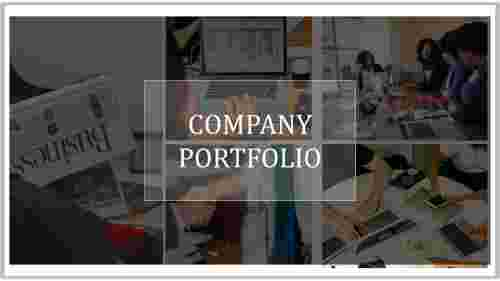 Good company portfolio PPT