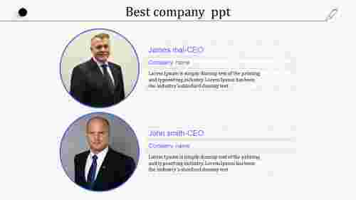 Sample best company PPT