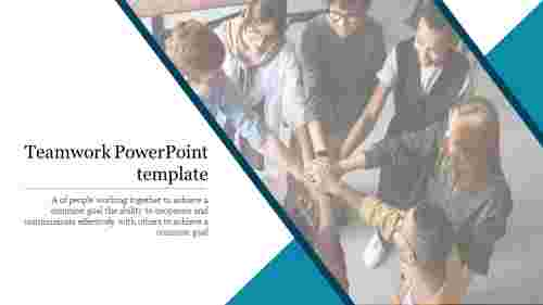 Awesome teamwork PowerPoint template