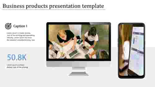technology based business products presentation template