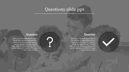 Portfolio questions slide PPT