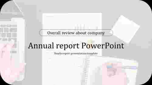 CompanyannualreportPowerPointpresentation