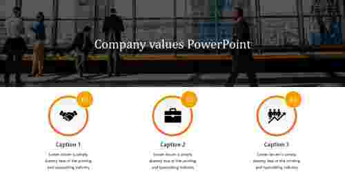 company values powerpoint template