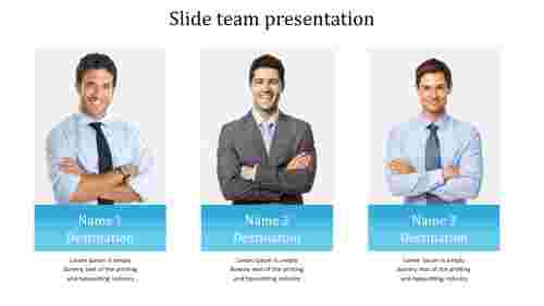 Powerful slide team presentation