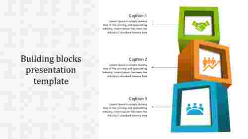 Awesome building blocks presentation template
