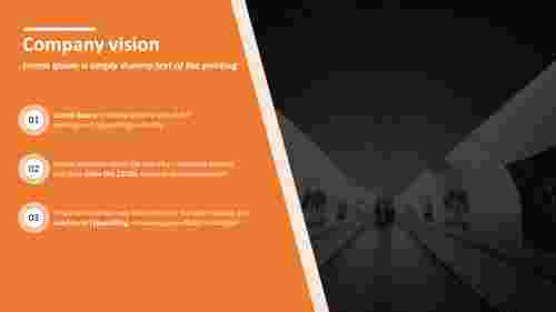 Clear vision powerpoint slide