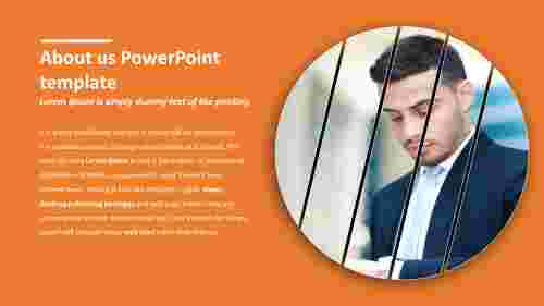 Useful about us powerpoint template