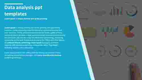 Data analysis powerpoint templates with information