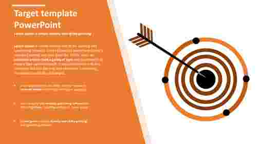 Business target template powerpoint