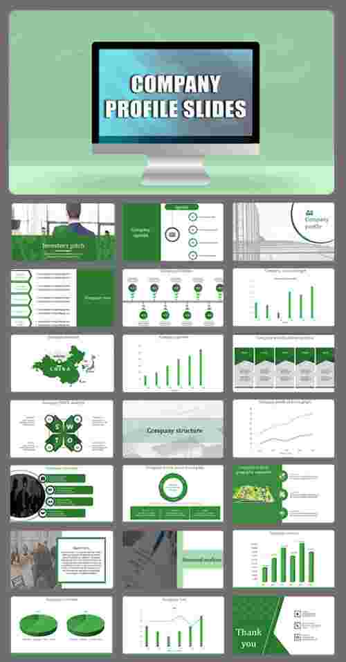 company profile presentation format PowerPoint template