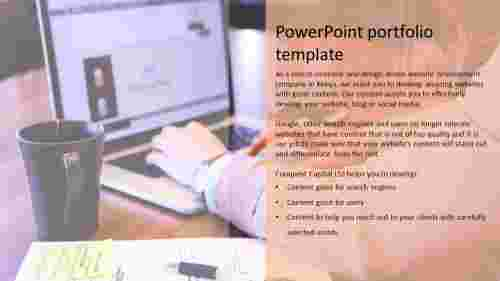 powerpoint portfolio template PPT
