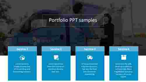 A four noded portfolio PPT samples