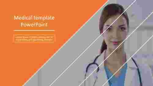 A one noded best medical powerpoint templates