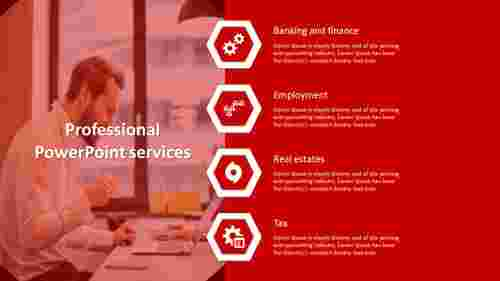 A four noded professional presentation services