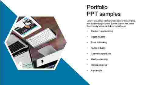A nine noded portfolio PPT samples