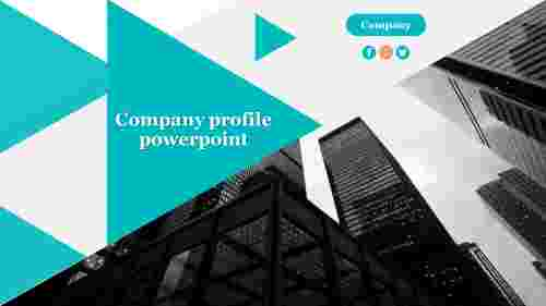 Company profile powerpoint Template Model