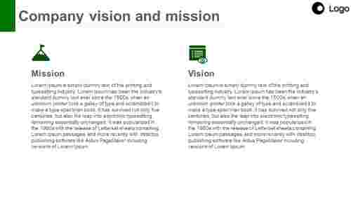 visionandmissionPPT-Twocolumnmodel