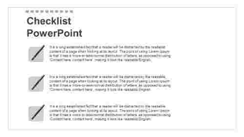 powerpointchecklisttemplatemodel
