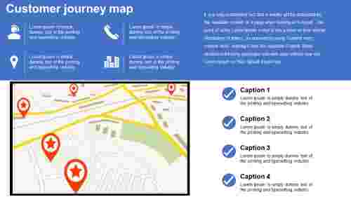 customer journey map PPT - Location