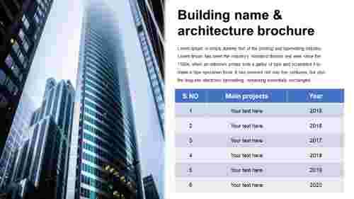 buildingpresentation-Tablemodel