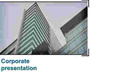 corporate powerpoint design -Title slide