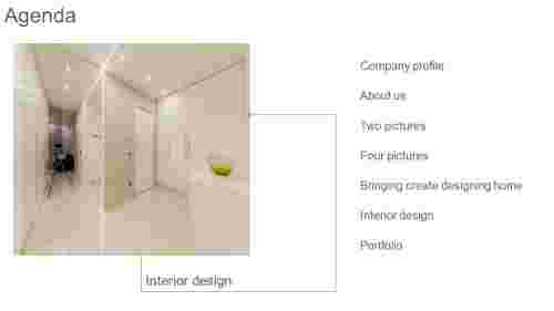 agenda PPT design - interior nodel