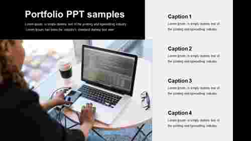 portfolio PPT samples for testing
