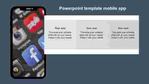 powerpointtemplatemobileappmodel