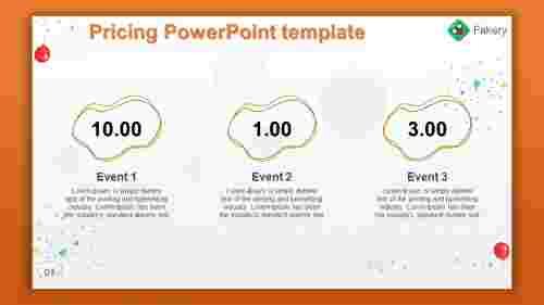 pricing powerpoint template