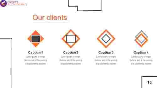 OurclientspresentationtemplatePowerPoint