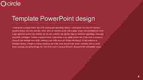 template powerpoint design PPT