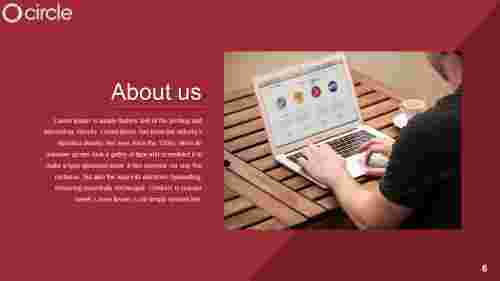 Marketing about us powerpoint template