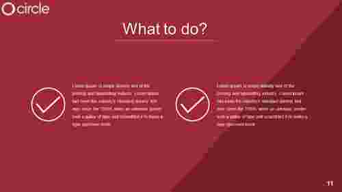 what to do on powerpoint template